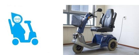 Le scooter électrique pour les seniors