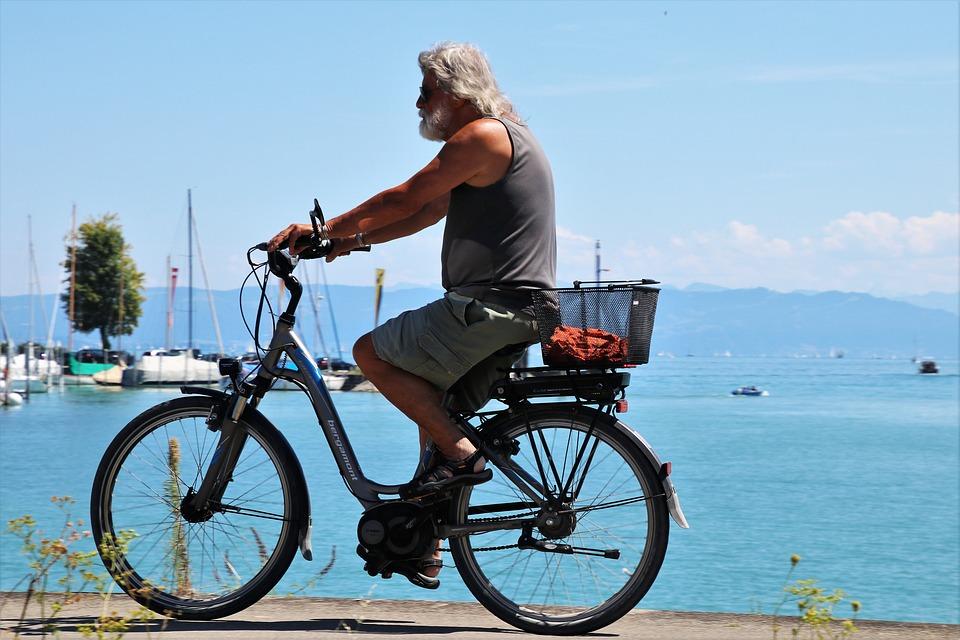 vélo électrique pour les seniors